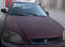 Automatic Maroon Honda 1997 for sale