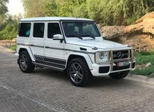 For sale 2015 White G 63 AMG
