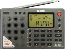 للبيع  راديو TECSUN PL-380 (Black Color) DSP PLL World Band Radio << ENGLISH VERSION