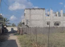 بيت باطون للبيع في دير البلح حديث البناء بسعر 48 الف دينار