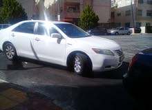Automatic White Toyota 2008 for rent
