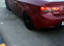 Red Kia Forte 2010 for sale