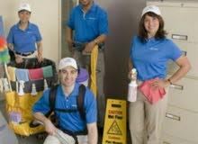 خدمات تنظيف بأحدث الأجهزة