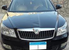 للبيع سياره سكودا أوكتافيا موديل 2010