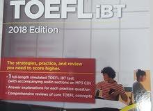 cracking the TOEFL IBT 2018 edition