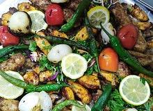 مطعم بروج الشام للمشويات والمقبلات الشامية مستعدون لوجبات الحجاج