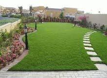 عشب صناعى وتنسيق حدائق