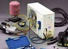 صيانة اجهزة تكييف وتبريد وغسالات