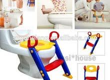 كرسي الحمام للاطفال لتساعده في اسخدام المرحاض