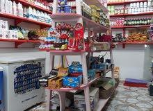 جميع محتويات المحل البيع المواد الغذائيه و الجهزه بسعر مناسب