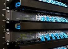 صيانة وتأسيس شبكات و كاميرات و سنترالات وأنظمة مراقبة