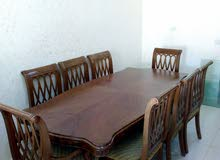 طاولة سفرة و بوفية بسعر مغري جدا