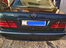 2000 Mercedes Benz E 200 for sale in Irbid
