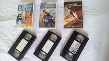 v 3 VHS CASSETTE Trés Bon Etat a Vendre
