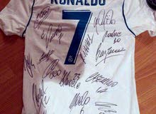 Real Madrid Autographed Jersey
