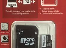 ذاكرة 512 قيقا sd card من شركة Verbatim