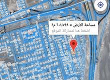 ارض للبيع لزغ 7 خلف بيت الوزيره موقع ممتاز