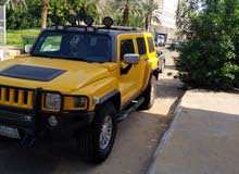 Yellow Hummer H3 2007 for sale
