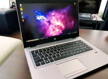 قوة تحمل عاليه .HP ELITEBOOK 745 G4 جيل ثامن// رمات 8 جيجا DDR4 هارد 256 SSD