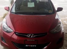 Hyundai Elantra 2011 For sale - Red color