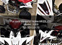 For sale Rapter YFZR 450