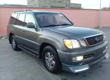 Lexus LX 2002 For sale - Black color