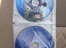 Horizon & watch dogs2 ps4 games