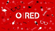 Be special be vodafone red ...free delivery to the customer the new vodafone sim card