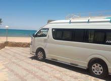 تيوتا هاي اس للايجار بسائق لخدمات السفريات والرحلات