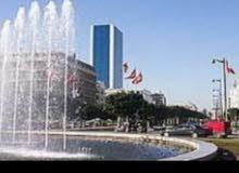 شقه مفروشه للايجار في تونس العاصمة جنب برشلون باليوم 100