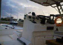 للبيع قارب 29 قدم موديل 2014 ومكينتين مركري 100