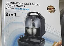 Automatic sweet ball donut maker