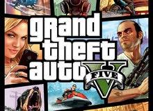 للبيع حساب ps4 فيه لعبة GTA 5 بسعر مغر