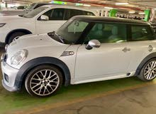 Mini Cooper S JCW with green leather interiors in excellent condition for sale