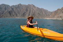 Kayaking in Hatta Water Dam