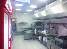 مطعم بكل معداته في جامعة أبوظبي resturant for sale