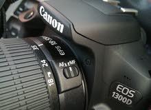 كامير كانون 1300D استعمل اسبوع شبه جديد