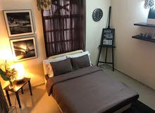 (special offer) furnished room with private bathroom for rent per day (alkhuwair)