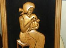 لوحة خشبية نوع زان بارز خلفية مخمل 47 / 67