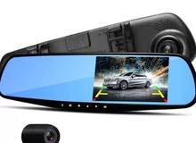 كاميرات أماميه وخلفية ومراية للسيارة ضمان سنه بسعر 210 ريال فقط