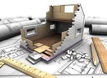 ثلاثي الأبعاد للأعمال الهندسية(تصميم ورسم خرائط معمارية و إشراف على التنفيذ)