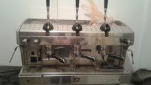 ماكينة قهوة ورحايه ومكرويف وكاصه وماكينة تحلية للبيع بأعلى سعر