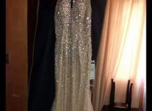فستان سهرة مقاس 38 للبيع