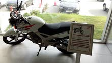 honda cbx250 twister model 2013