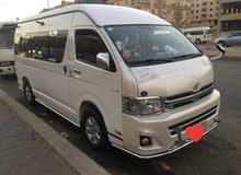 ارخص سعر ايجار سيارات في مصر (تويوتا هايس 14 راكب _اتش وان 9 راكب)