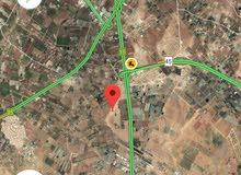 أرض 500م في الطنيب السكة الغربي مقابل جامعة  الاسراء منطقة فلل