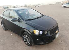 للبيع سيارة شفروليه سونيك موديل 2012 اتوماتيك بحاله فوق ممتاز