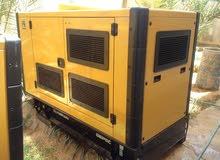 مولد كهرباء كاتربيلر 55 kva للبيع