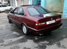 BMW 520 1991 For sale - Maroon color