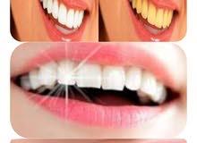 بودرة مبيض الأسنان التركي
